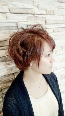 ピンクアッシュ ナチュラルマッシュ|NEXT hair 前橋店のヘアスタイル