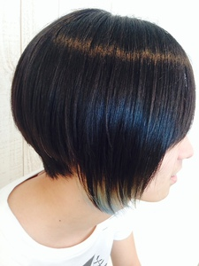 メロコアボブ|NEXT hair 前橋店のヘアスタイル