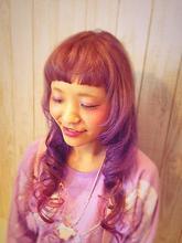 ふんわりガーリー|NEXT hair 前橋店のヘアスタイル