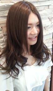 ルーズカールガール|NEXT hair 前橋店のヘアスタイル