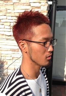 ワイルドソフモヒ×RED|NEXT hair 前橋店のヘアスタイル