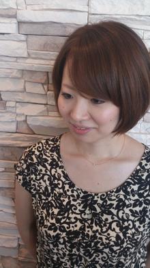 ナチュラルショートボブ|NEXT hair 前橋店のヘアスタイル