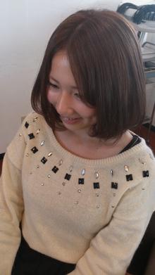 ふんわりボブ|NEXT hair 前橋店のヘアスタイル