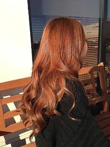 ヌーディーゴールドカラー☆|NEXT hair 前橋店のヘアスタイル