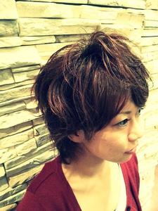 大人っぽさを残したユルふわ、ショート NEXT hair 前橋店のヘアスタイル