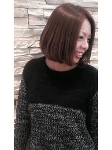 大人可愛いナチュラルボブ☆ NEXT hair 前橋店のヘアスタイル