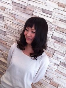 ふわふわ重ためボブベース NEXT hair 前橋店のヘアスタイル