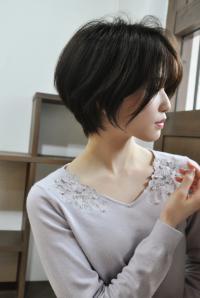 髪質改善×耳掛けハンサムショート
