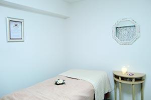 個室での施術