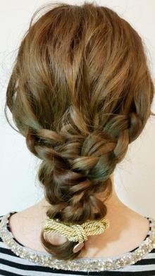 ゆるカジュアルアレンジ|Palmsのヘアスタイル