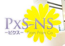 PxS-ns  | ピクス  のロゴ