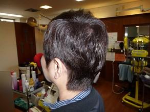 艶やかカラー☆襟足すっきりショート|プレゼンス美容室のヘアスタイル