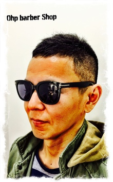 骨格補正のベリーショートボウズ。|Ohp barber Shop のヘアスタイル