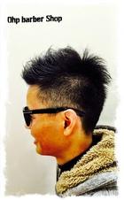 大人なスポーツカジュアル。|Ohp barber Shop のメンズヘアスタイル