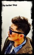 やんちゃな遊びのあるピンパーマスタイル。|Ohp barber Shop のメンズヘアスタイル
