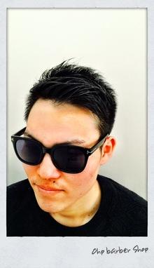 清潔感のあるスタイリッシュな就活ヘア。|Ohp barber Shop のヘアスタイル