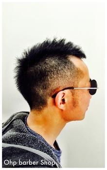 今だから、シャープな個性派ツーブロック。|Ohp barber Shop のヘアスタイル
