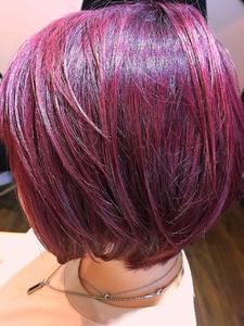 ブリーチ on カラー|flagのヘアスタイル