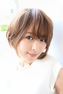 ☆ラフ&フェミニン!スタイリッシュショート☆|VASTYのヘアスタイル