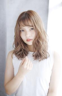 ☆リラックスウェーブミディ☆|For evolveのヘアスタイル