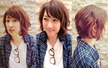 ルーズなボブスタイル。|hair Launge TRiPのヘアスタイル
