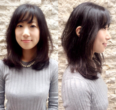 黒髪にはツヤ…。|hair Launge TRiPのヘアスタイル