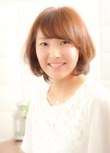 【大人可愛い】好感度抜群ひし形ボブ☆|De:sign for Hairのヘアスタイル
