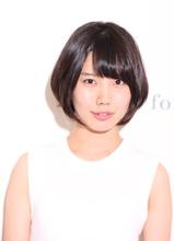 【De:sign for Hair】シンプルな愛されショートボブ☆|De:sign for Hairのヘアスタイル