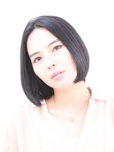 【透明感抜群】リラックスボブ|De:sign for Hairのヘアスタイル