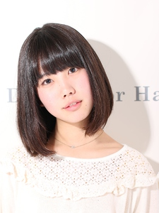 THE BOB|De:sign for Hairのヘアスタイル