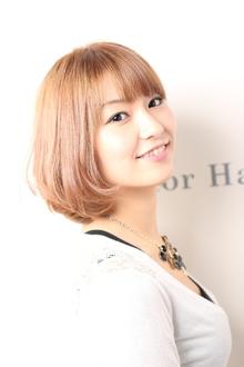 ワンカールボブ|De:sign for Hairのヘアスタイル