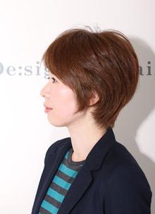 大人ショート☆|De:sign for Hairのヘアスタイル