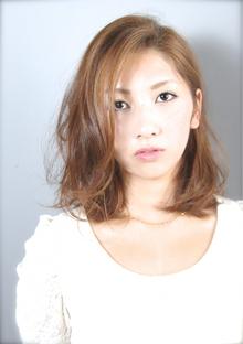 大人×可愛いクール☆「ロブ」スタイル|liberateのヘアスタイル