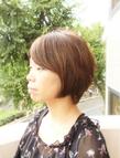 【Chair】大人系ナチュラルショート Chair hair spa nailのヘアスタイル