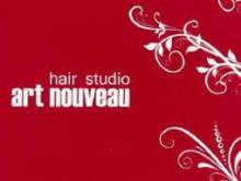 hair&nail art nouveau 高島平 | ヘアーアンドネイル アールヌーヴォー タカシマダイラ のロゴ