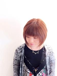 ナチュラルショートボブ|PIECEのヘアスタイル
