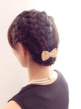 ☆パーティーアレンジ☆ 『編み込みーズ』|PIECEのヘアスタイル