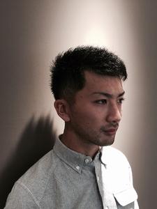 武骨ショート|PIECEのヘアスタイル
