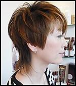 上品ショート|Hair&Make PARISのヘアスタイル