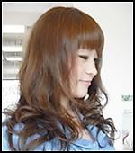 ふわふわカール|Hair&Make PARISのヘアスタイル