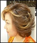 ミディアム|Hair&Make PARISのヘアスタイル