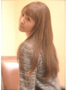 ナチュラルストレート♪|sanRisaのヘアスタイル