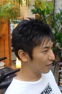 清潔感のあるショートスタイル|M-HAIRのヘアスタイル