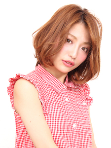 米倉 涼子さん風 大人ボブ|salon de merci 青葉台のヘアスタイル