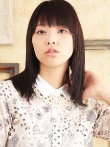 安定したナチュラル☆エアリーストレートミディ☆|hair ARKS 上大岡店のヘアスタイル