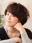 くせ毛風☆ふわふわ☆ショートボブ♪|hair ARKS 上大岡店のヘアスタイル