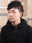 ツーブロアシメは男前の条件ショート☆|hair ARKS 上大岡店のヘアスタイル