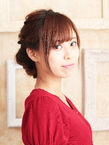 ルーズだけどカワイイ☆3連くるりんぱスタイル☆|hair ARKS 上大岡店のヘアスタイル