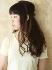 アジアンビューティー美髪美人ヘアー★ハーフアップ