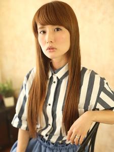 ★gloss straight Style★ ♪AKBテイスト♪|hair ARKS 上大岡店のヘアスタイル